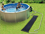 Système de chauffage de piscine à Champsecret