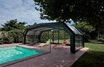 Utilisations d'abris de piscine à Champsecret